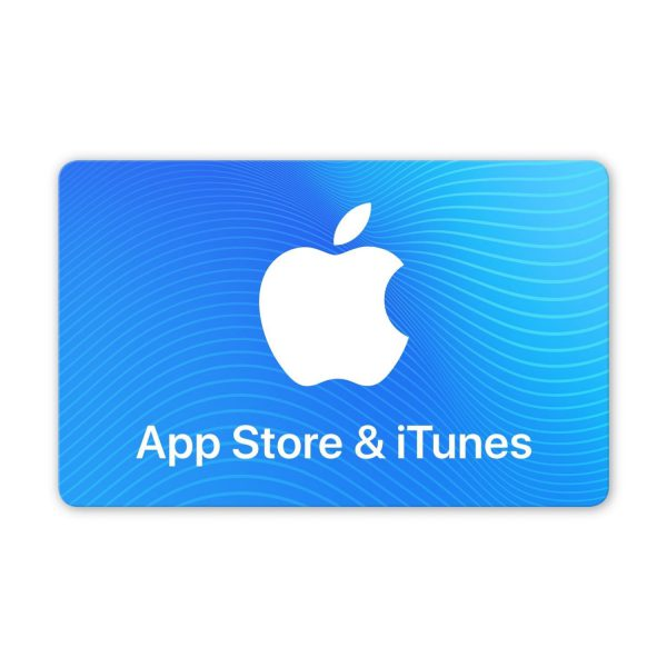 App Store & iTunes Physical Gift Card
